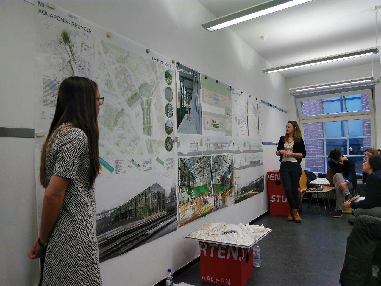 Forschungsprojekt proGIreg, Präsentation der Entwürfe, Foto: Ingo Bläser