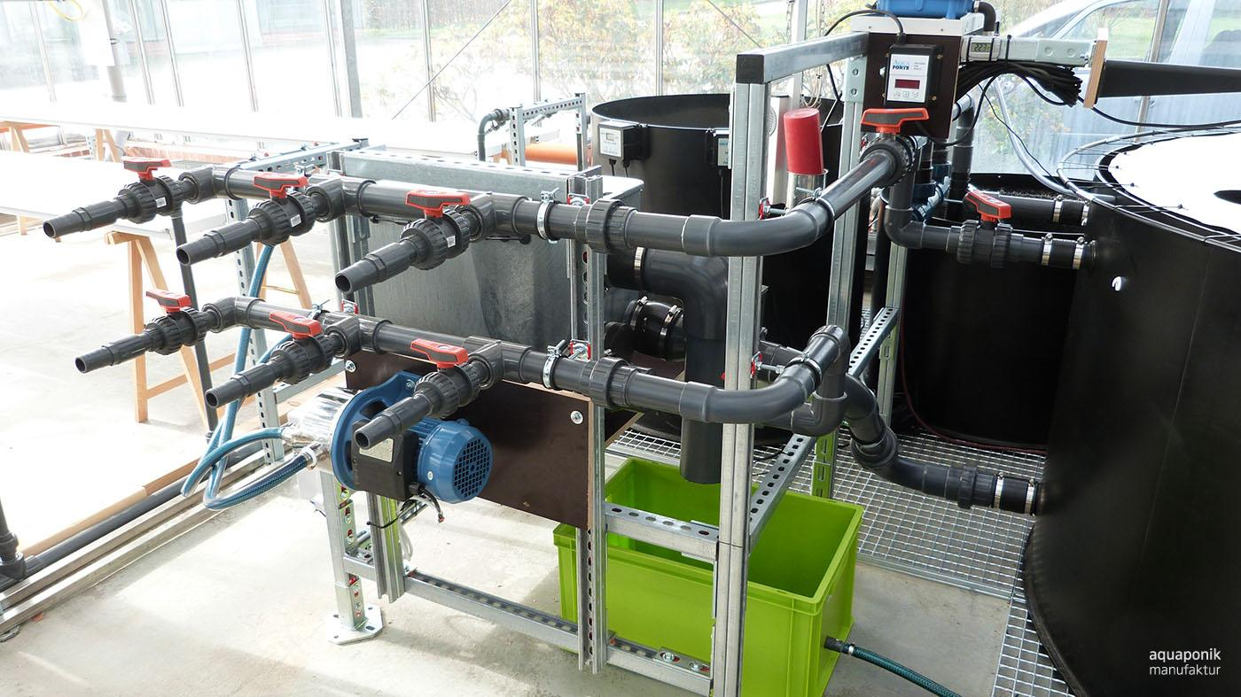 Foto der universellen Aquaponik-Forschungsanlage