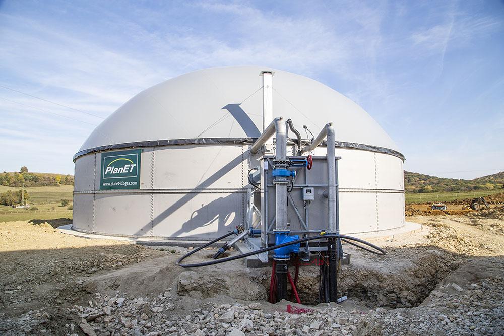 Biogasanlage und Aquaponik passen perfekt zusammen